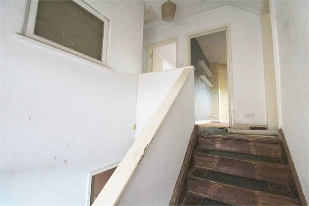 Stairs to first floor landing